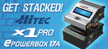Hitec X1 Pro / E Power Box